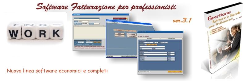software fatturazione professionisti