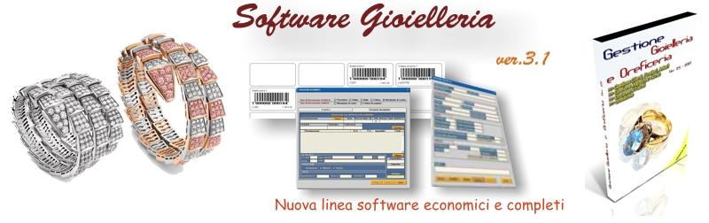 software gioielleria