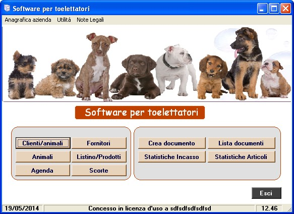 Software toelettatori