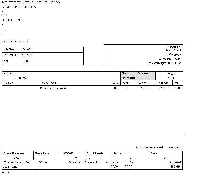 Software programma officina meccanica carrozziere ebay for Diritto di ritenzione carrozziere