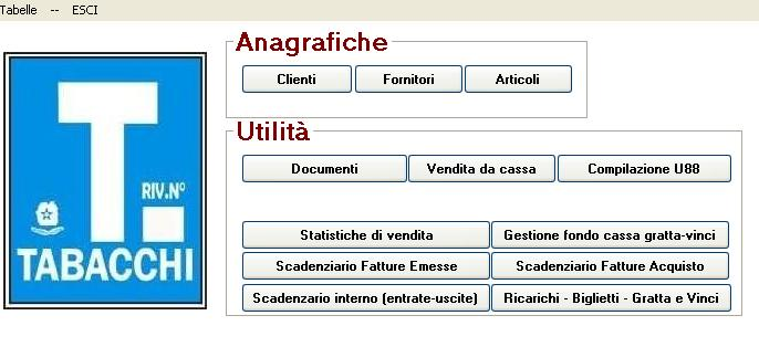 software tabacchi