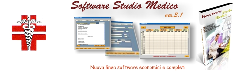 Software studio medico
