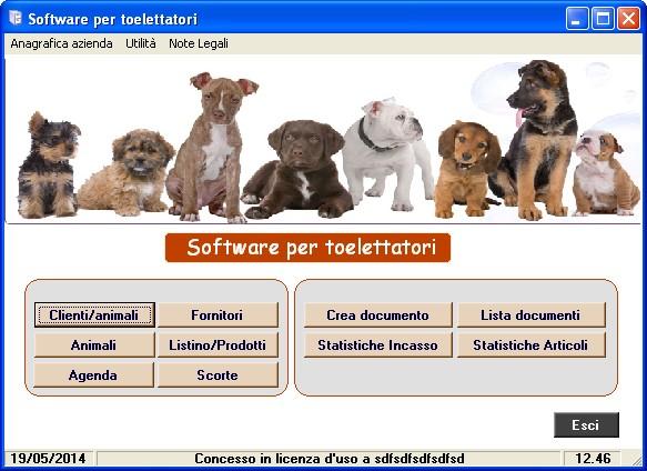 Software toelettatori