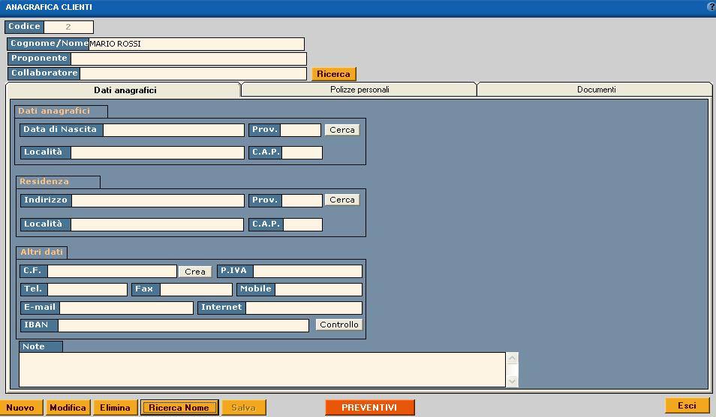 clienti software gestionale assicurativo
