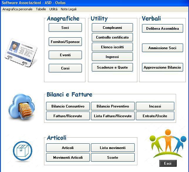 software gestione associazione sportiva dilettantistica gratis