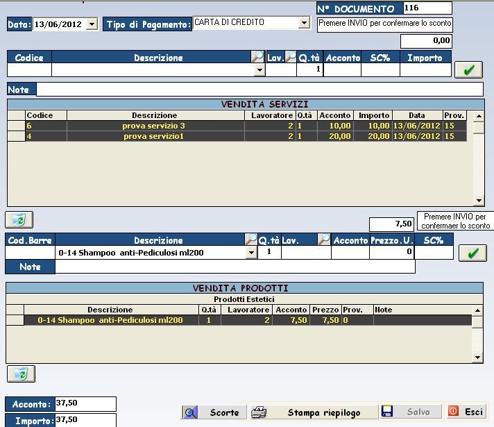 Software gestionale centro estetico gratis free for Area clienti 3 servizi in abbonamento