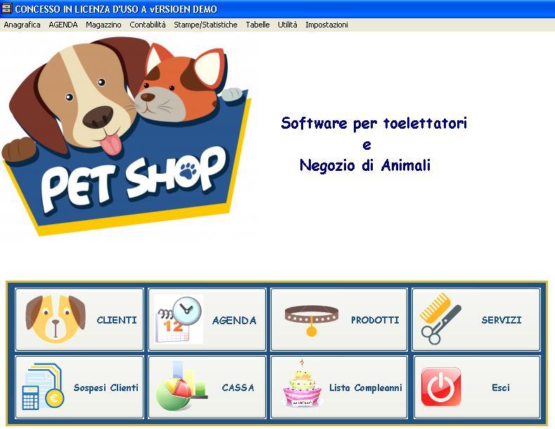 software PET SHOP