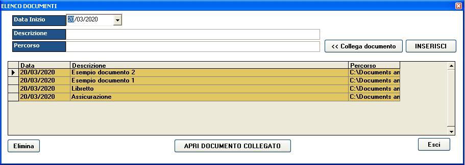 software gestionale scuola documenti veicolo