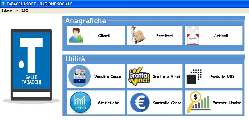 Software gestionale Tabaccheria