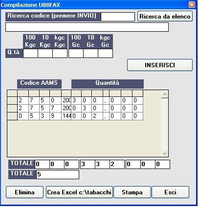 software modulo u88 fax