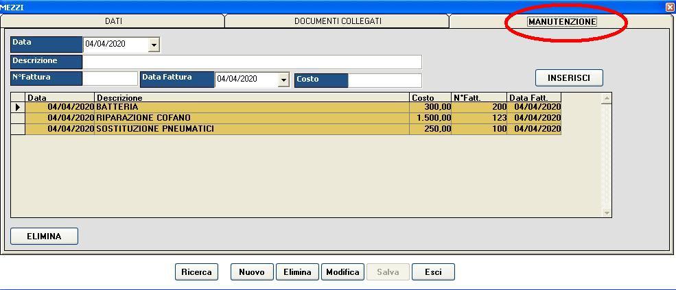 software gestione trasporti manutenzioni